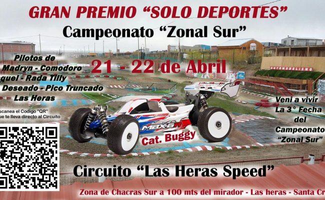 Se confirmò la reinauguraciòn del Circuito Las Heras Speed para el 22 de Abril