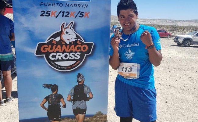 Matías Juárez participó en el Guanaco Cross representando a Hijos del Viento