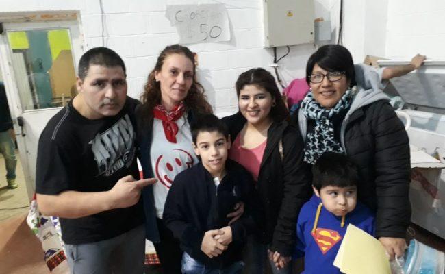SOLIDARIDAD :   El deporte colaboró con Simón
