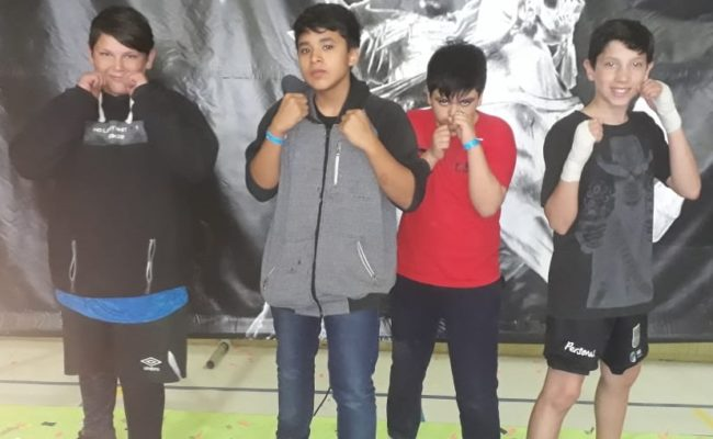 KICK BOXING: Academia Luchador en la Copa Madryn 2018