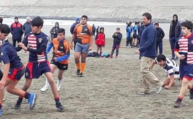Kosten Aike R.C presente  en la  8va edición del  Rugby Playero en Rada Tilly