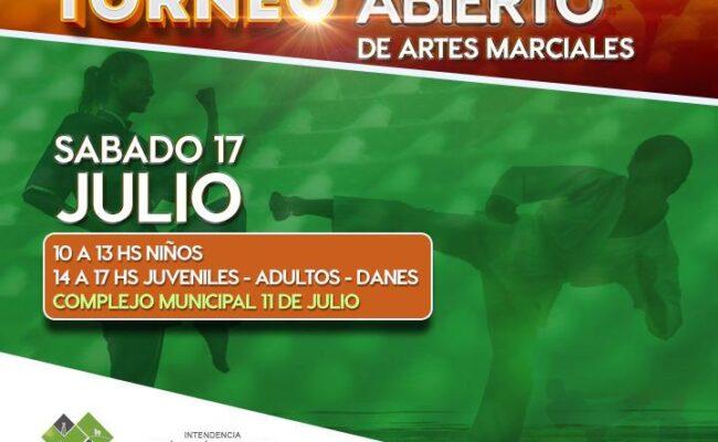 TORNEO ABIERTO DE ARTES MARCIALES